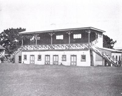 Grandstand at Aspendale Race Course [picture]