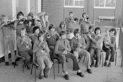 Aspendale Technical School Band, 1977 [picture]