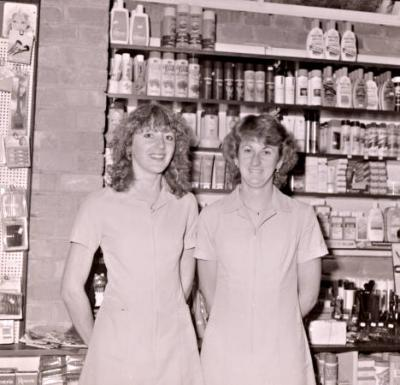 Female staff at the Cheltenham Dispensary [picture].