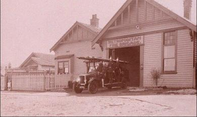 Fire station and fire house on Point Nepean Road Cheltenham [picture].