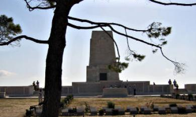 Australian and New Zealand War Memorial at Gallipoli [picture].