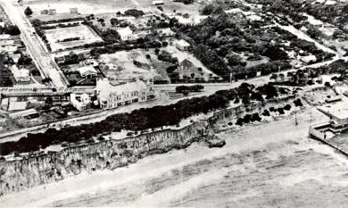 Aerial view of Thomas McCristal's property, later St Bede's, c1920 [picture].