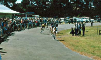 Clough Memorial Cycling event at Parkdale Reserve [picture].