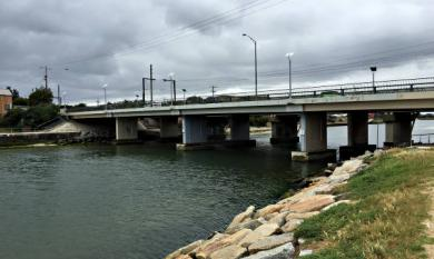 Patterson River bridge, Carrum bridge, opened in 1995 [picture].