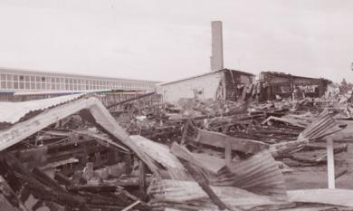 Fire at Aspendale Technical School, 1971 [picture]