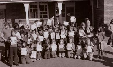 Sandringham Primary School pupils [picture].