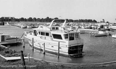 Boats in Patterson Lakes marina.  1987 [picture]