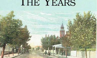 Cover of Leo Gamble's book about Mentone's History, 2003 [picture].