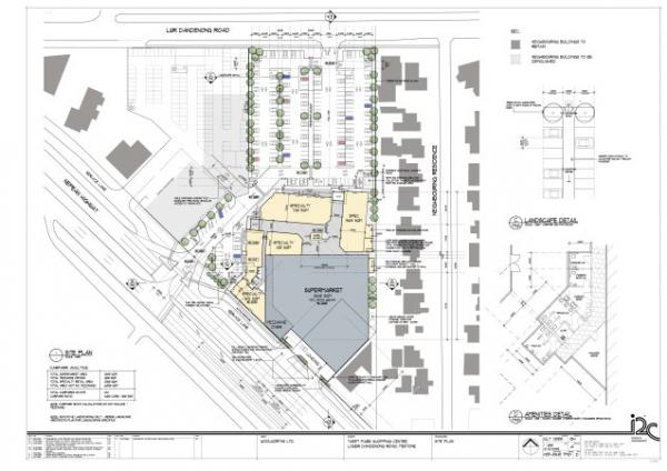 Safeway site plans [picture].