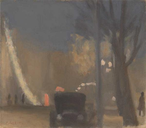 Collins Street evening 1931, by Clarice Beckett [picture].