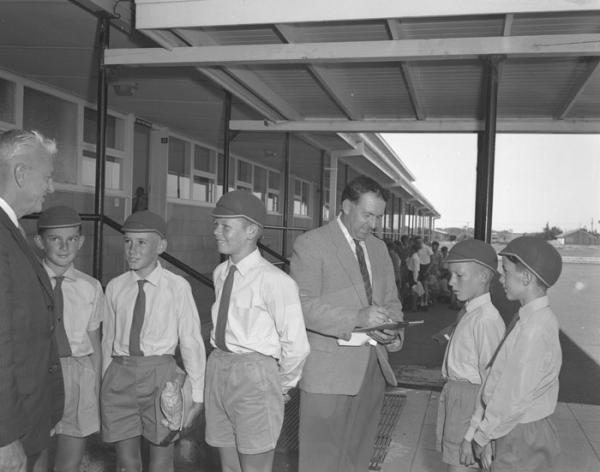 New students at Aspendale Technical School, 1962 [picture]