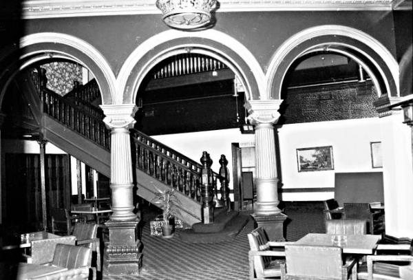 Staircase in the Mentone Hotel [Picture].