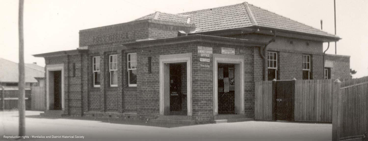 Mentone Post Office in Florence Street Mentone [picture].