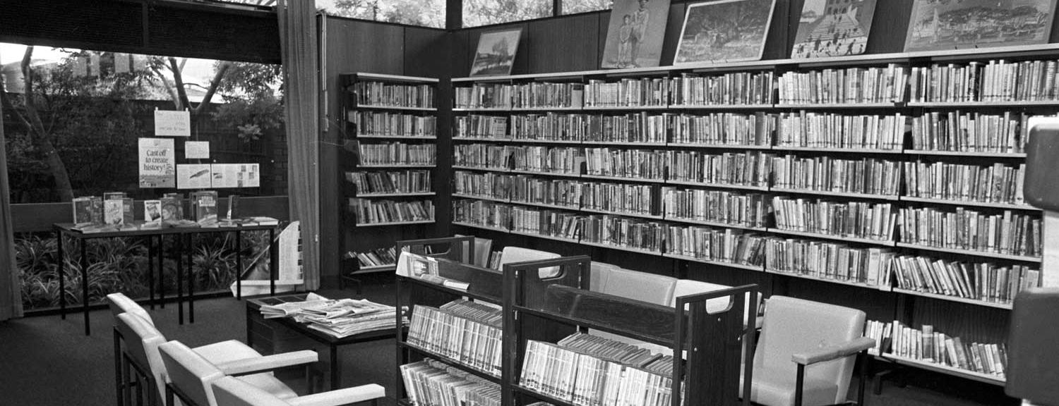 Chelsea Library, December 1987 [picture].
